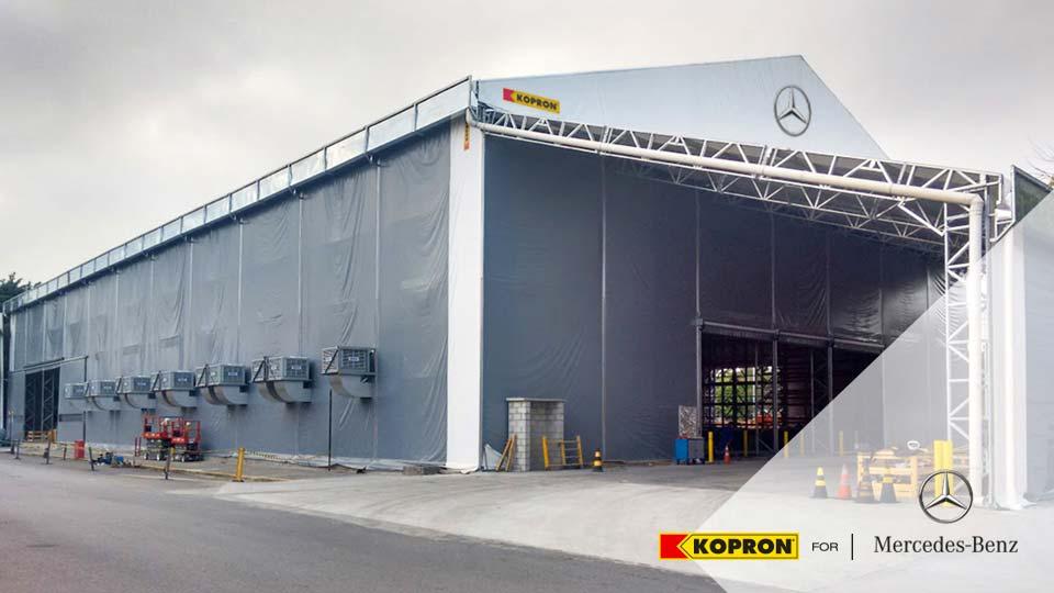 Capannone-in-pvc-Kopron-per-Mercedes-Benz-Brasile