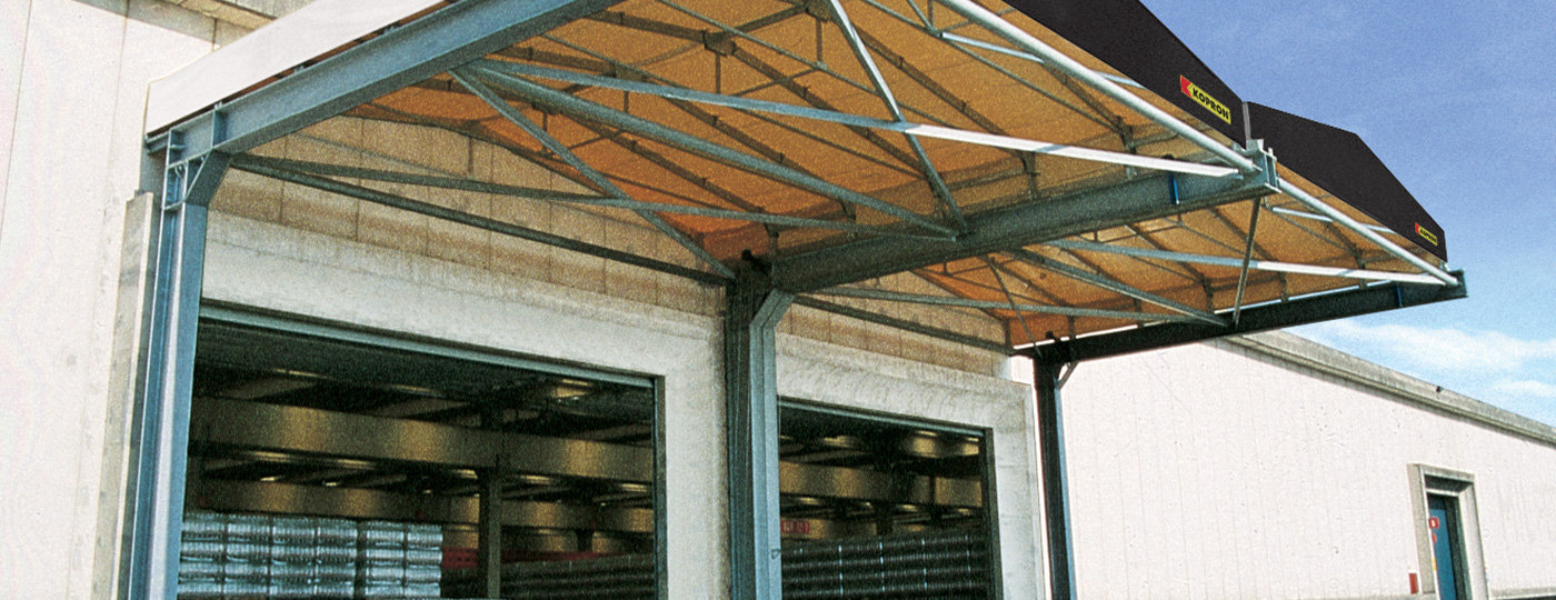 Industrial-canopies