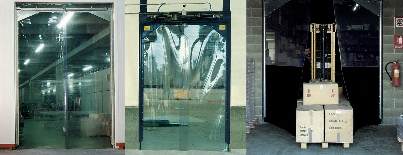 Flexible-hinged-doors