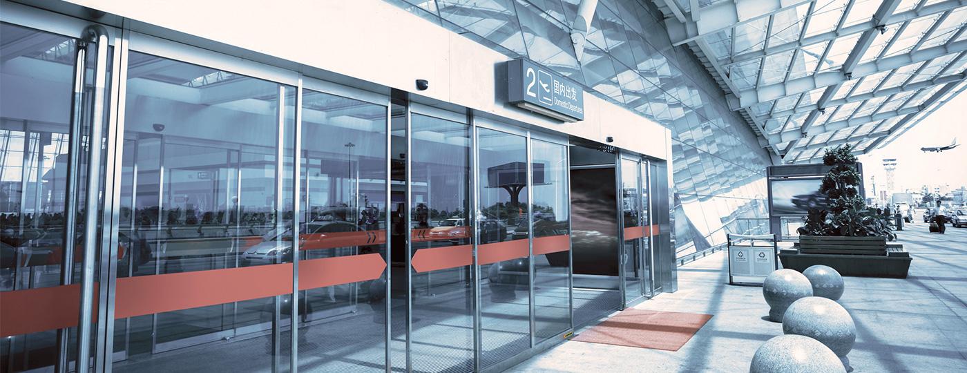 Automatic-folding-doors
