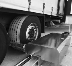 Sistema di sicurezza automatico blocca ruote camion K-Autoblock di Kopron