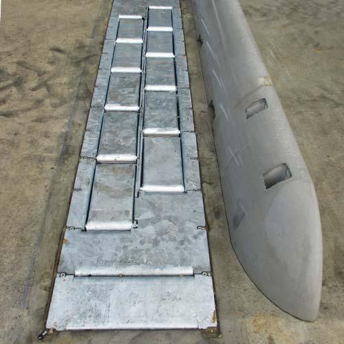 K2-CALEMATIC - Sistema a cunei doppi arrivo veicolo