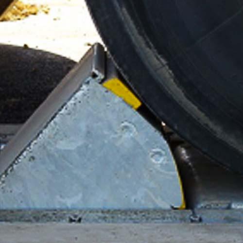 K2-CALEMATIC - Sistema a cunei doppi blocco veicolo