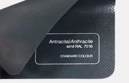 Telo PVC autoestinguente antracite
