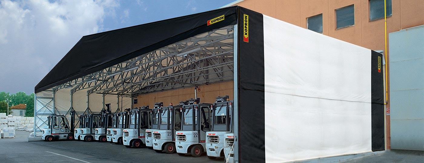 Capannone-PVC-per-stoccaggio-automezzi