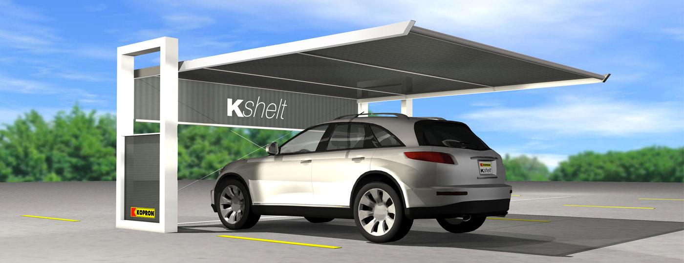 Kopron Pensiline Per Auto Installazioni Facili Protezioni Di Design