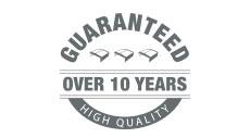 Garanzia di 10 anni sui materiali