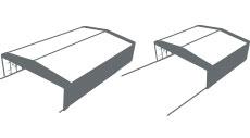 Installazione flessibili dei capannoni