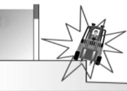 Caduta carrello dalla banchina di carico