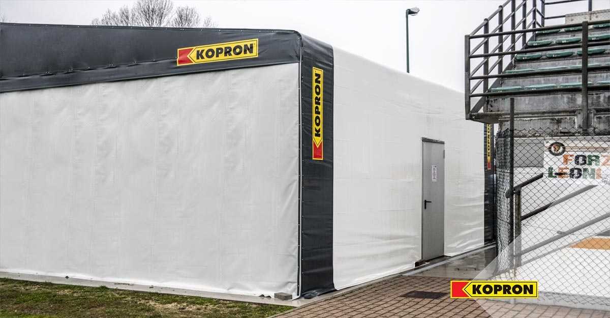 Palestra-mobile-Kopron-per-allenamenti-Venezia