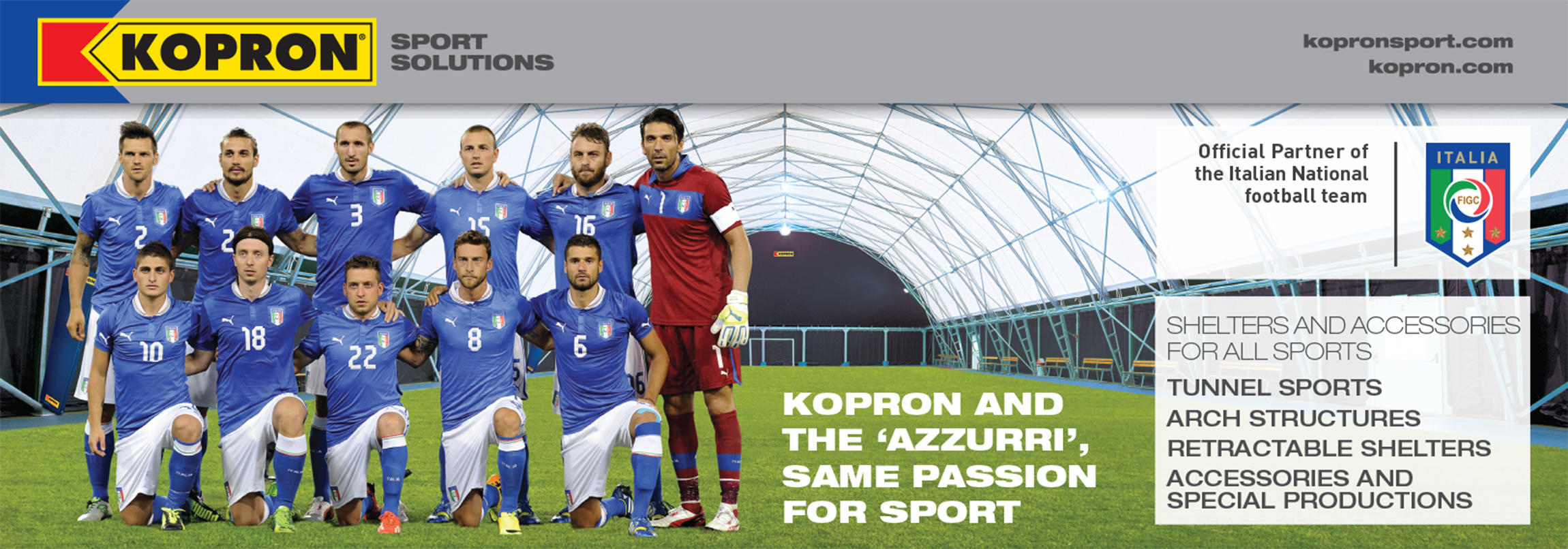 Kopron-partner-italienischen-Fussball-Nationalmannschaft