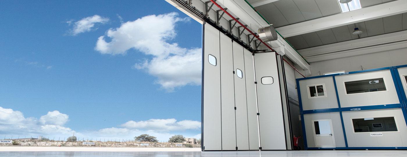 hangar-doors