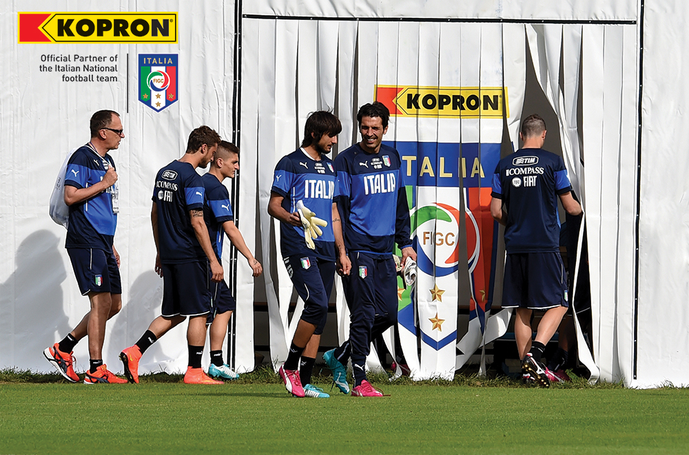 Italy-National-soccer-team-uses-Kopron-gym-warehouses
