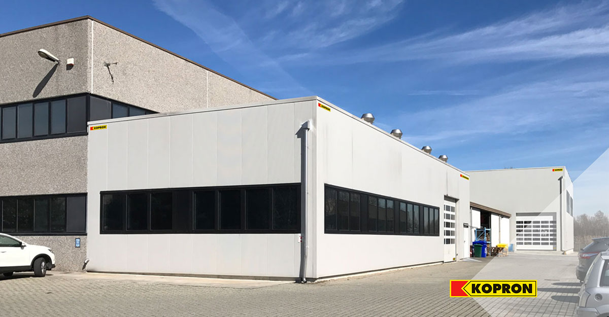 Prefabricated-steel-buildings-with-sandwich-panels-in-Turin