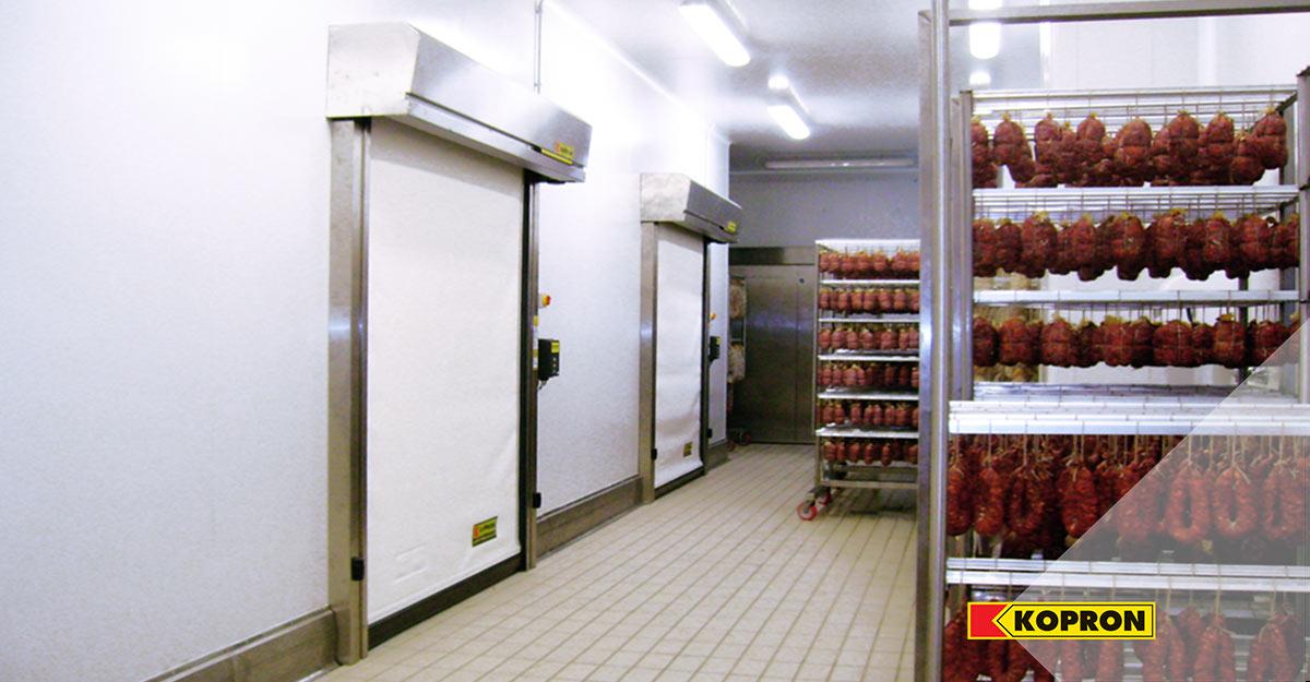 Kopron-high-speed-doors-for-cold-food-storage