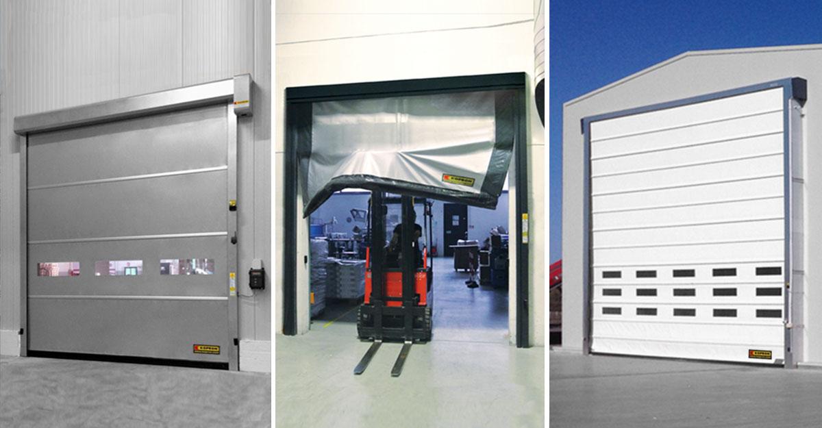 portes-rapides-industrielles-modeles-differences